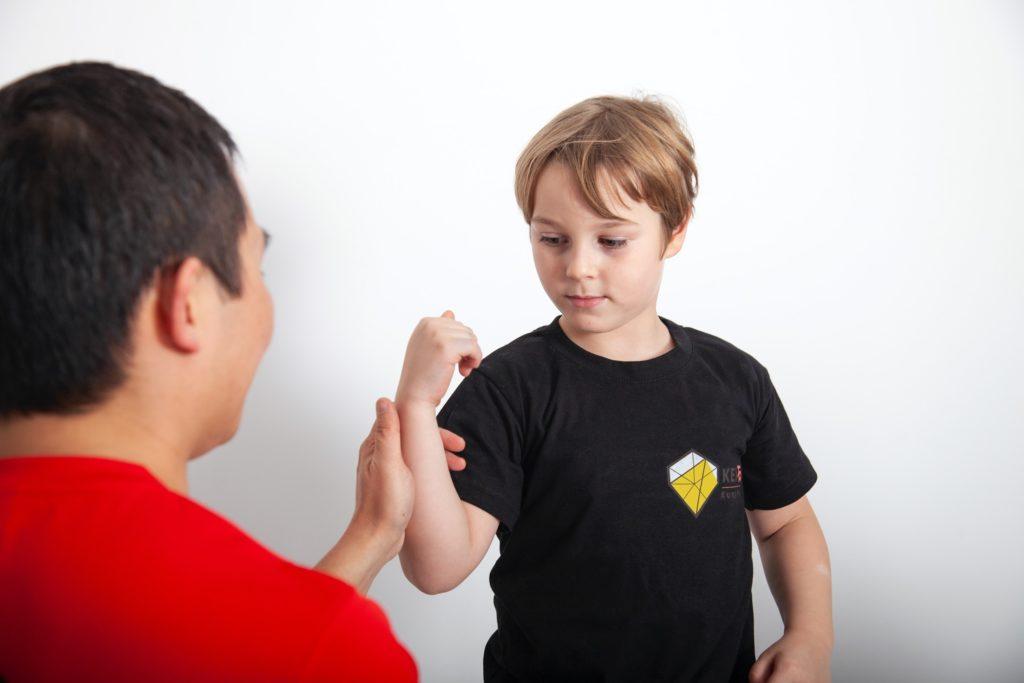 Wing Chun les voor kinderen bij KEI Kung Fu